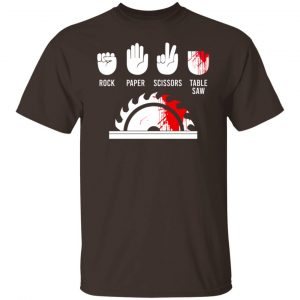 Rock Paper Scissors Table Saw T-Shirts, Hoodies, Sweater Apparel 2