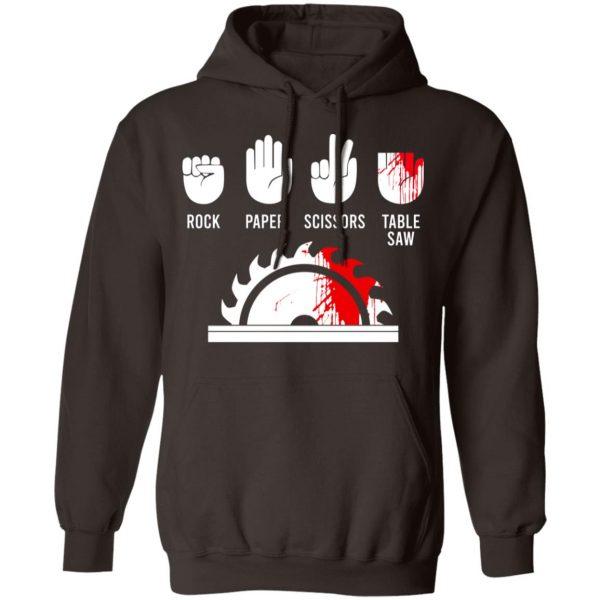 Rock Paper Scissors Table Saw T-Shirts, Hoodies, Sweater Apparel 11