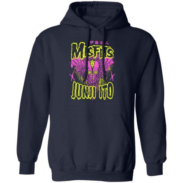 Misfits X Junji Ito Skull T-Shirts, Hoodies, Sweater Apparel 10