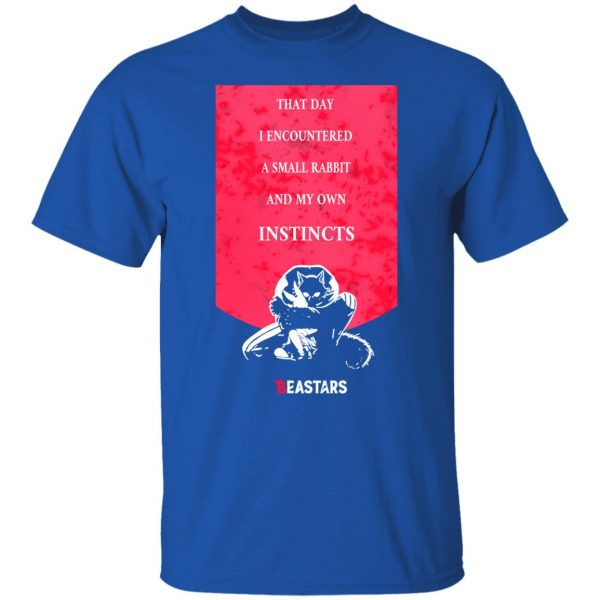 That Day I Encountered A Small Rabbit And My Own Instincts Beastars Instincts Legoshi & Haru T-Shirts, Hoodies, Sweater Apparel 6