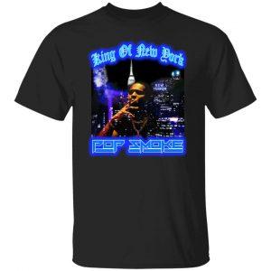 King Of New York Pop Smoke T-Shirts, Hoodies, Sweater Apparel