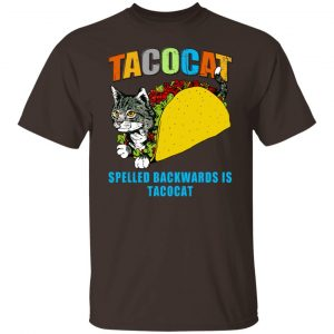 Tacocat Spelled Backwards Is Tacocat T-Shirts, Hoodies, Sweater Apparel 2