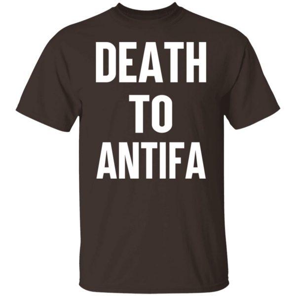 Death To Antifa T-Shirts, Hoodies, Sweater Apparel 4