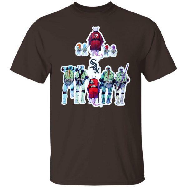 Chicago White Sox Ninja Turtles T-Shirts, Hoodies, Sweater Apparel 4