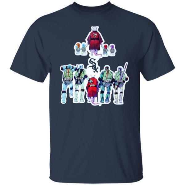 Chicago White Sox Ninja Turtles T-Shirts, Hoodies, Sweater Apparel 5