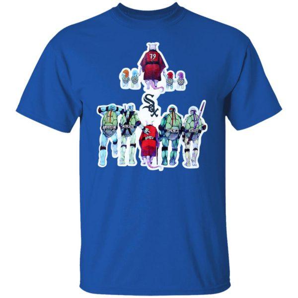 Chicago White Sox Ninja Turtles T-Shirts, Hoodies, Sweater Apparel 6