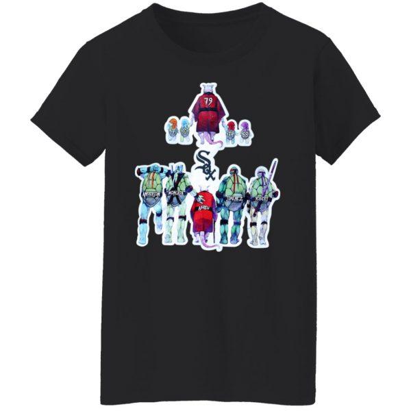 Chicago White Sox Ninja Turtles T-Shirts, Hoodies, Sweater Apparel 7