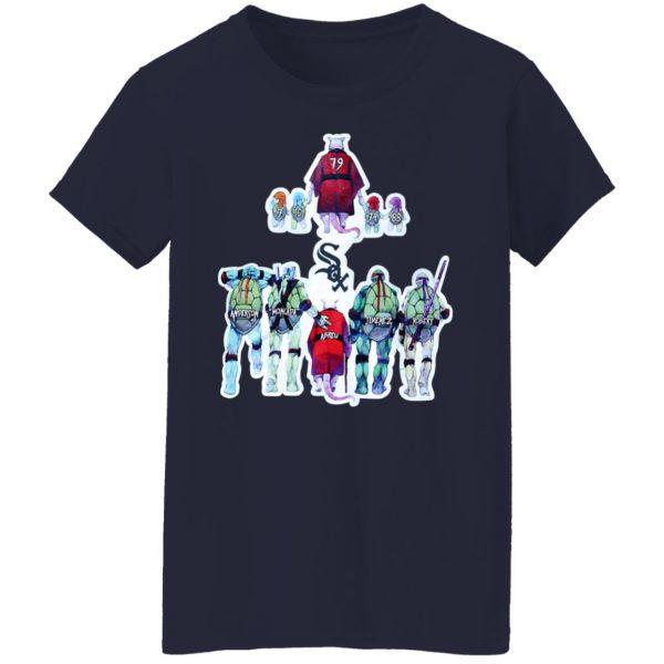 Chicago White Sox Ninja Turtles T-Shirts, Hoodies, Sweater Apparel 8