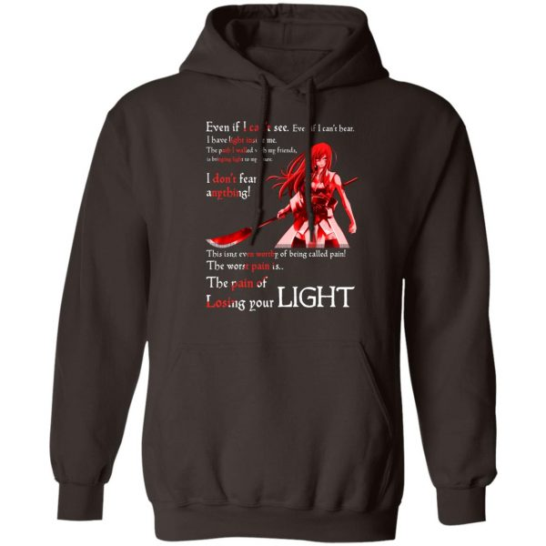 Fairy Tail Erza Scarlet Kimono Even If I Can't See Even If I Can't Bear T-Shirts, Hoodies, Sweater Apparel 11