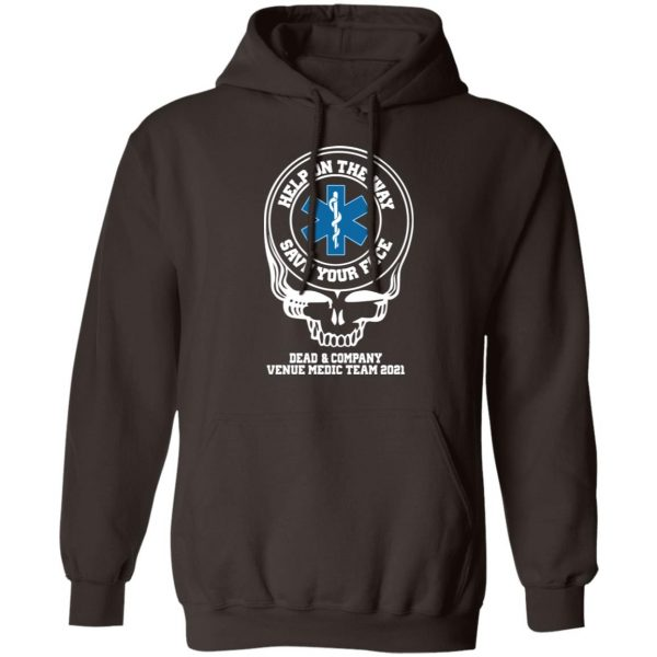 Dead & Company Venue Medic Team 2021 Help The Way Save Your Face Grateful Dead T-Shirts, Hoodies, Sweater Apparel 11