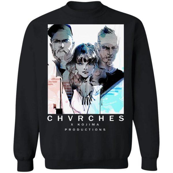 Chvrches X Kojima Productions Death Stranding T-Shirts, Hoodies, Sweater Apparel 13