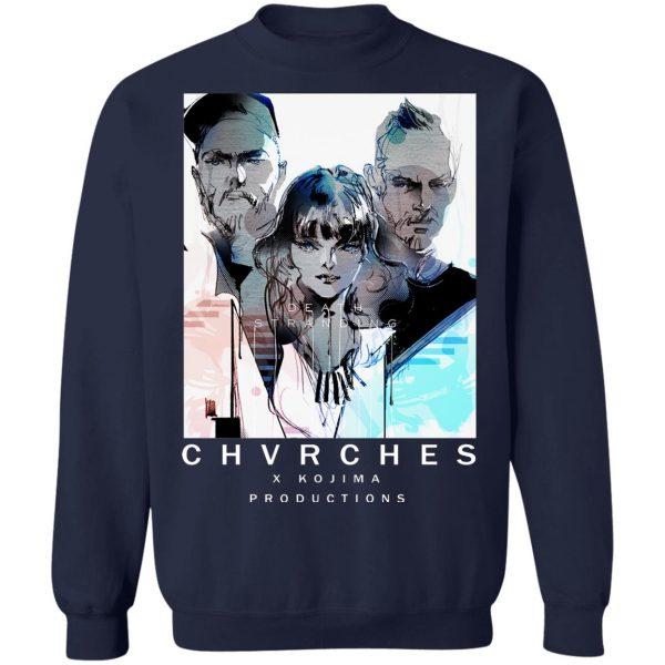 Chvrches X Kojima Productions Death Stranding T-Shirts, Hoodies, Sweater Apparel 14